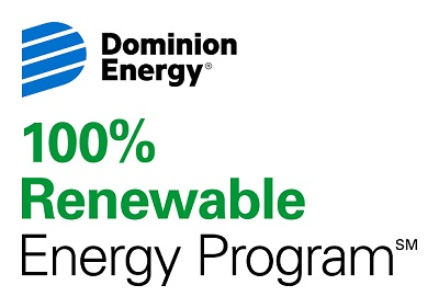 100% renewable energy program