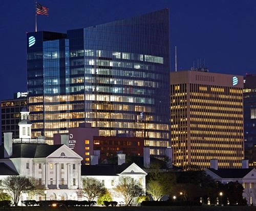 New Dominion Energy building in Richmond, VA