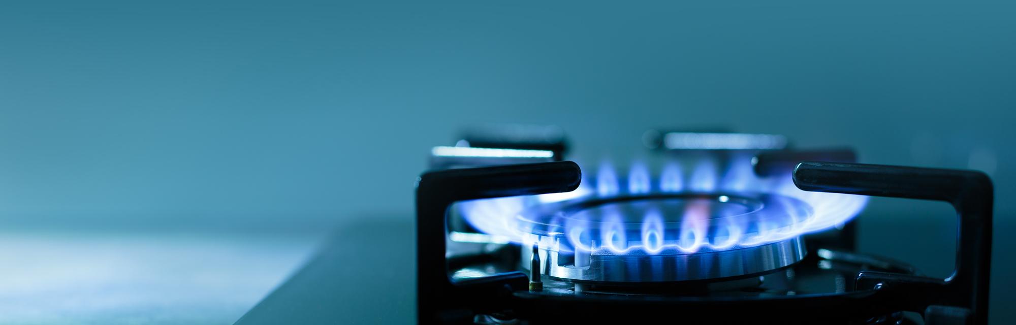 natural gas stove-top burner
